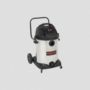 a Shop-Vac 60-Litre single stage vacuum cleaner on a grey background