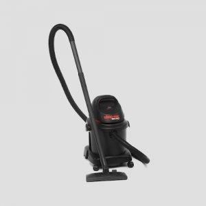 a black plastic Shop-Vac Micro 16 Portable wet dry vacuum cleaner