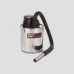 a Shop-Vac Ash Vacuum cleaner on a grey background
