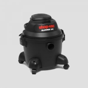 a black plastic Shop-Vac Blower Vac wet and dry vacuum cleaner