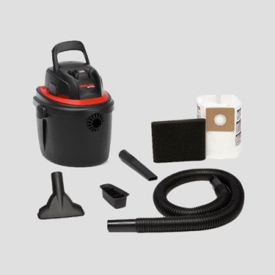 a Shop-Vac Micro 10 Handheld vacuum cleaner and accessories