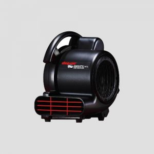 a Shop-Vac Mighty Mini Air Mover on a grey background