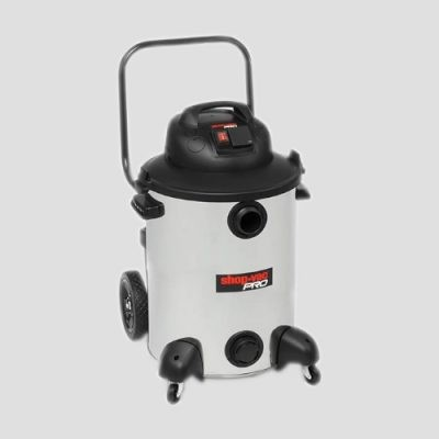 a stainless steel Shop-Vac Pro60si wet dry vacuum cleaner